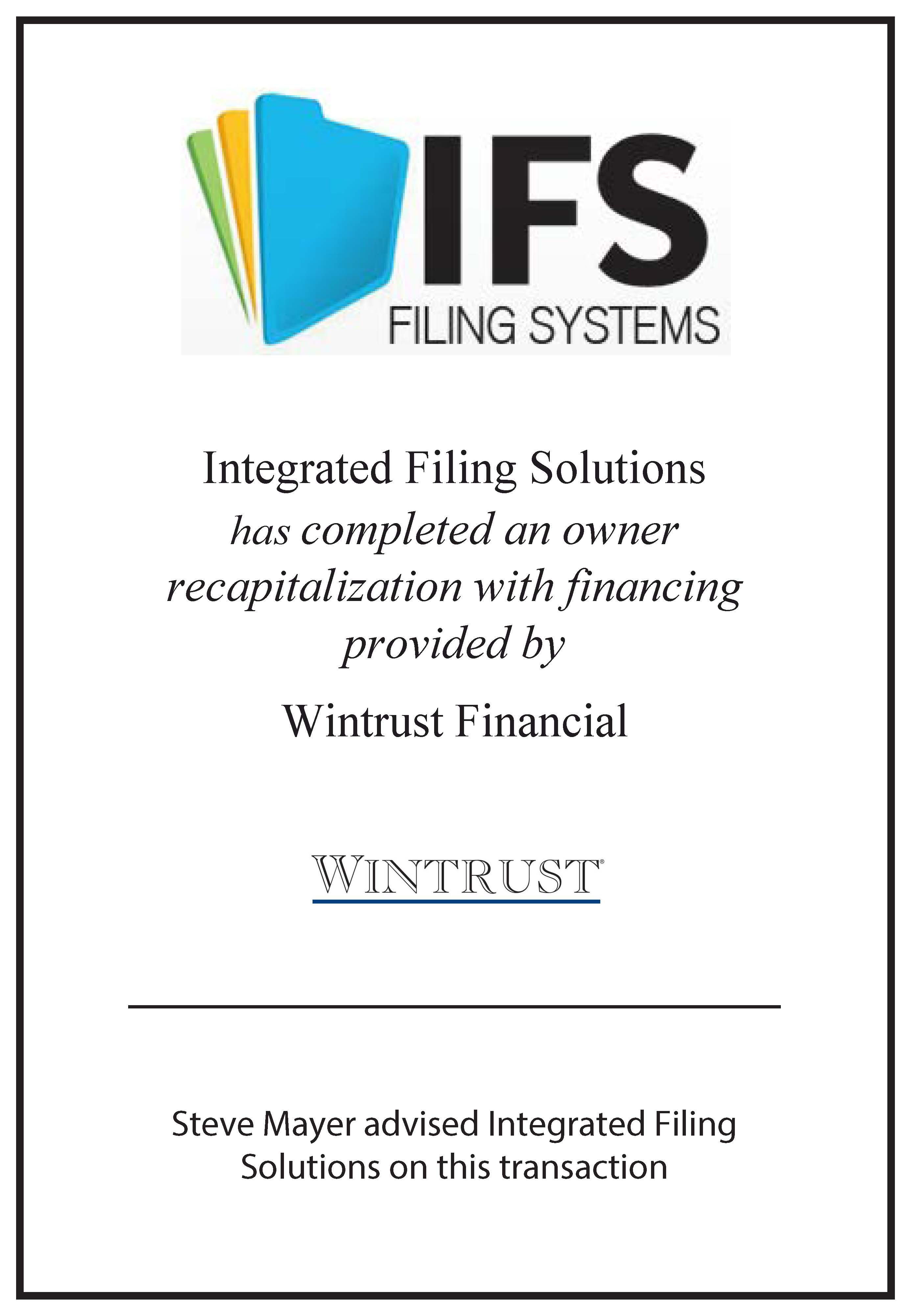 Integrated Filing Solutions